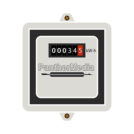 ikona miernika elektrycznego