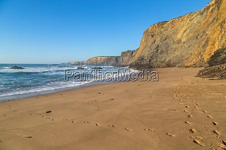 plaża, ładna, izolowana - 28844529