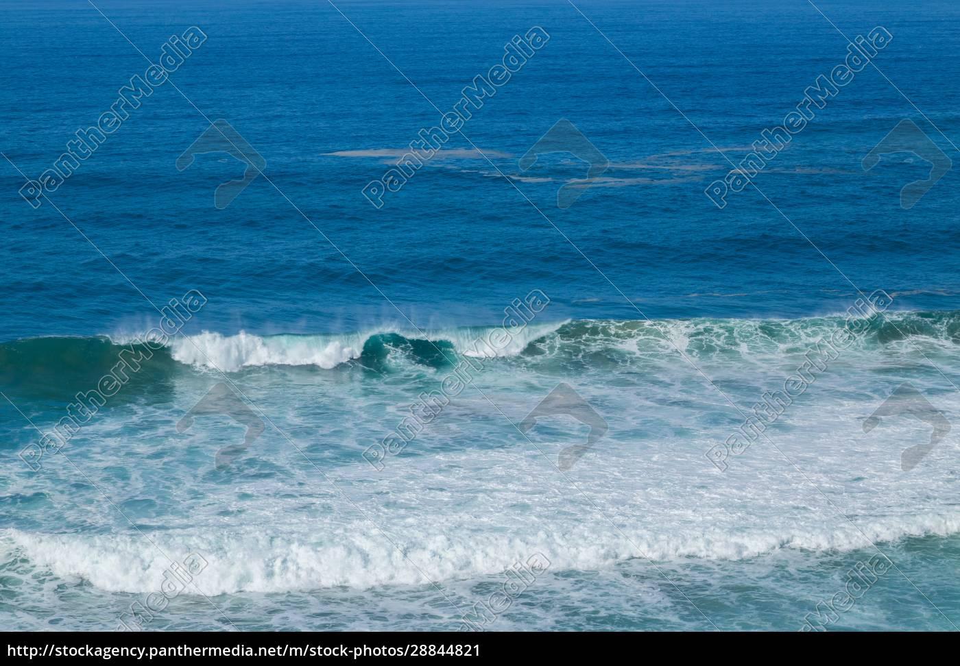 widok, na, wybrzeże, atlantyku - 28844821