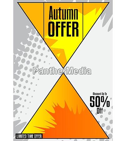 komiks, jesień, jesień, sprzedaż, social, media, post - 28851466