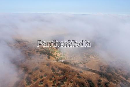 widok balonu na gorace powietrze