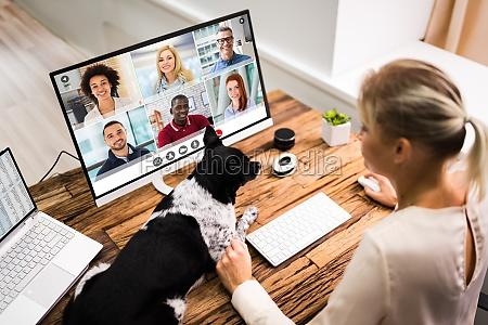 wideokonferencji, online - 28944695