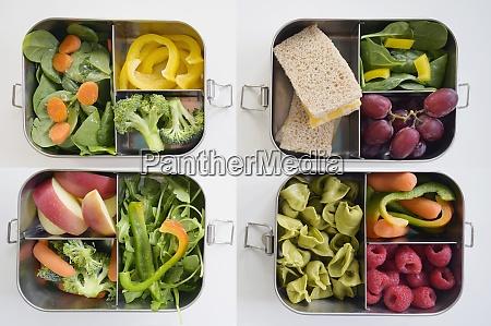 pudełka, na, lunch, ze, świeżymi, warzywami - 29034135