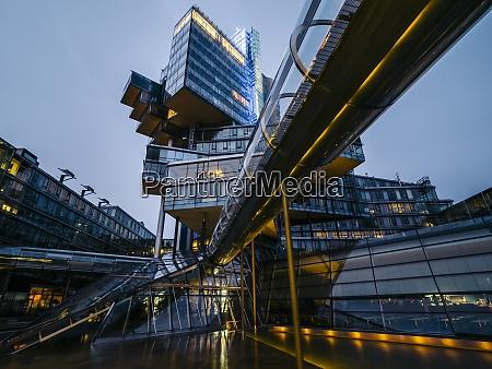niemcy hanower futurystyczna architektura budynku nord