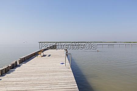 austria burgenland jezioro neusiedl kapielisko w