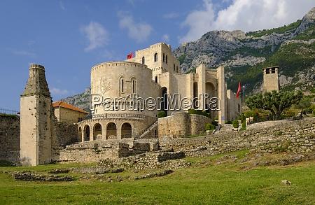 albania kruje muzeum skanderbeg w twierdzy