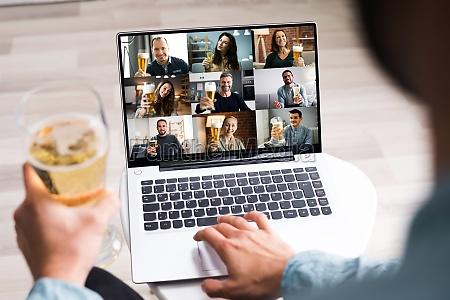 wirtualna impreza piwna online