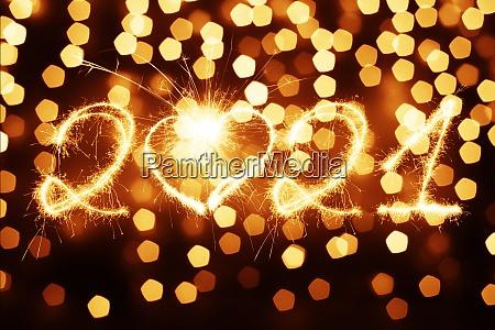 szczesliwego nowego roku tle start w