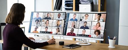 seminarium internetowe online virtual video conference