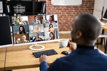 seminarium internetowe online video conference work