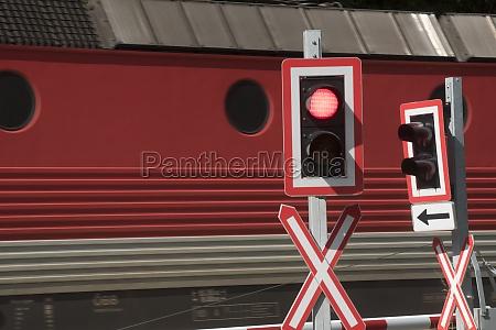 przejazd kolejowy w ruchu kolejowym