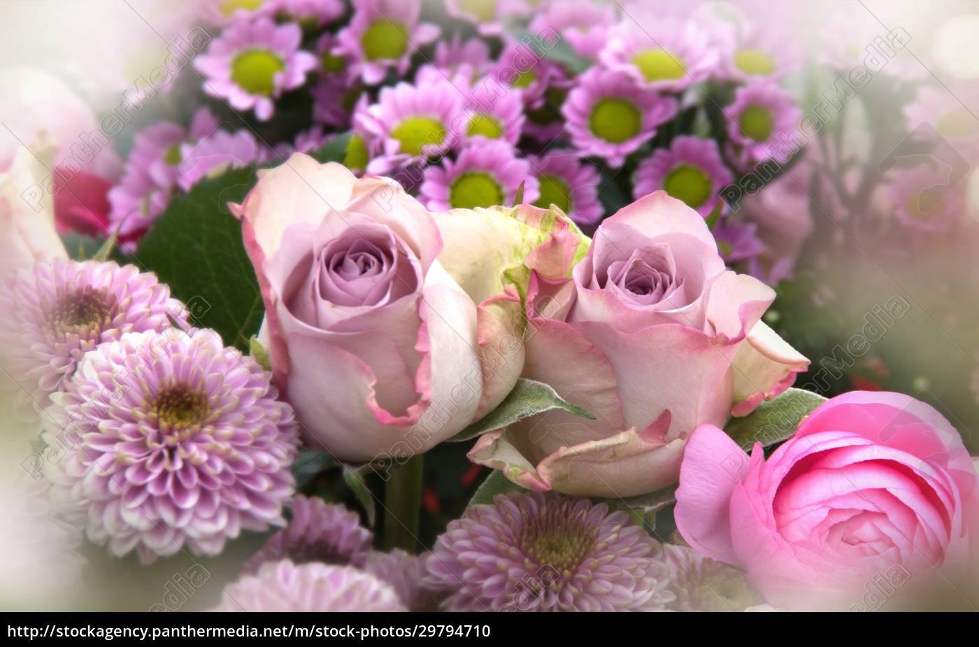 różowe, kwiaty, matki, dzień, martwa, natura - 29794710