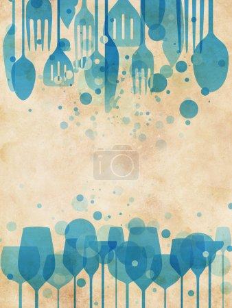 paskowych, kura, Rozrywka, niebieski, tło, kolorowy - B12097128