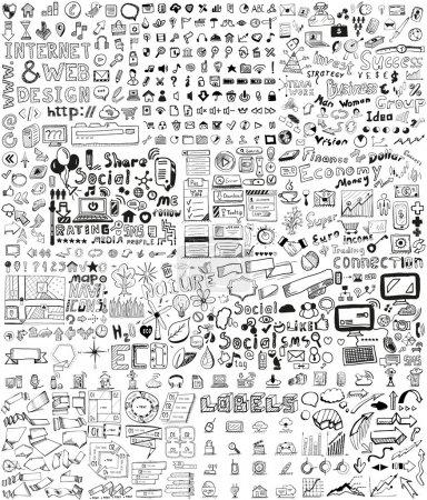 wektor, komputer, pieniędzy, elementu, ilustracja, deseniem - B28319905