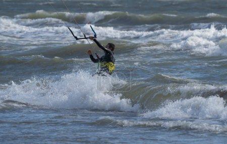 sportowe, ludzie, relaks, charakter, na zewnątrz, wody - B416334370