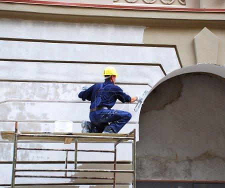 działalność, biały, malowanie, dzień, biznes, odzież - B7716430